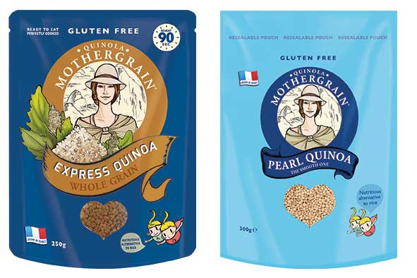 Discover the first wholegrain quinoa, grown in France