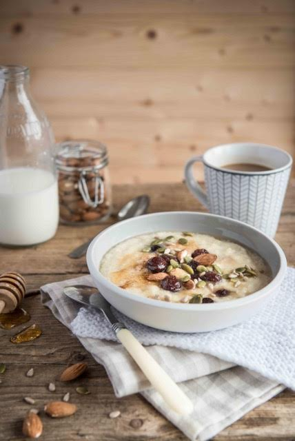 quinoa porridge bowl recipe
