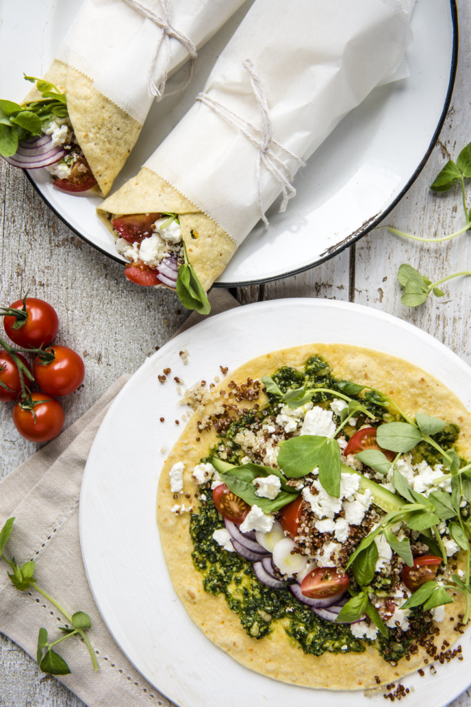 quinoa_feta_cheese_wrap