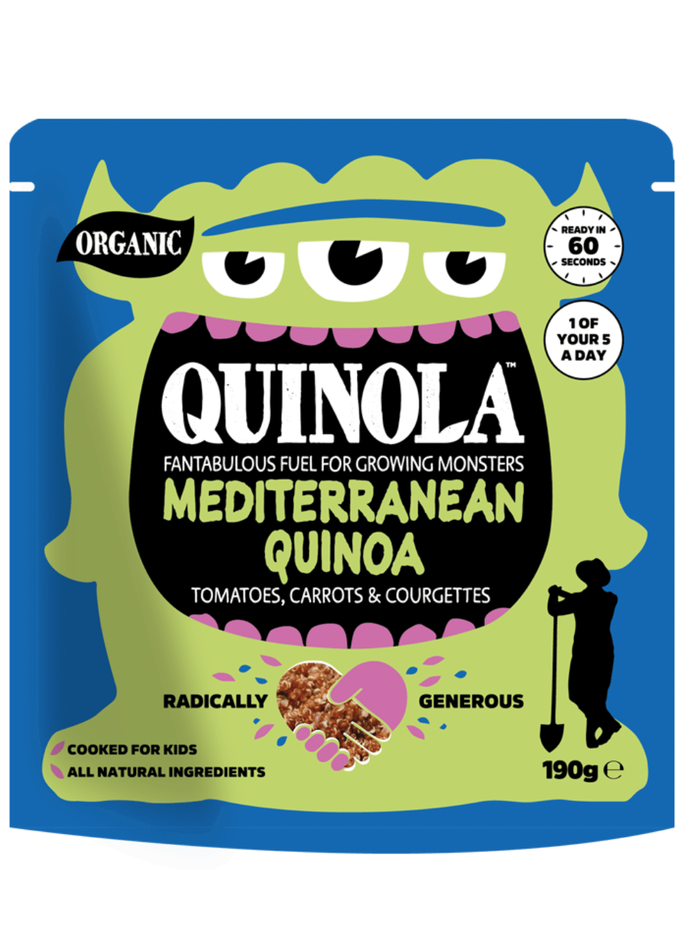 Quinola Mediterranean quinoa for kids