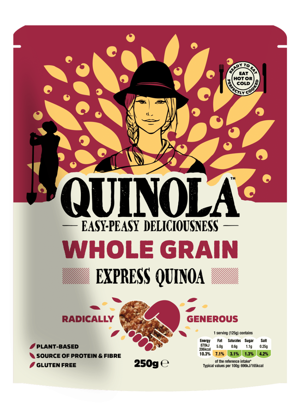 Whole Grain quinoa pouch