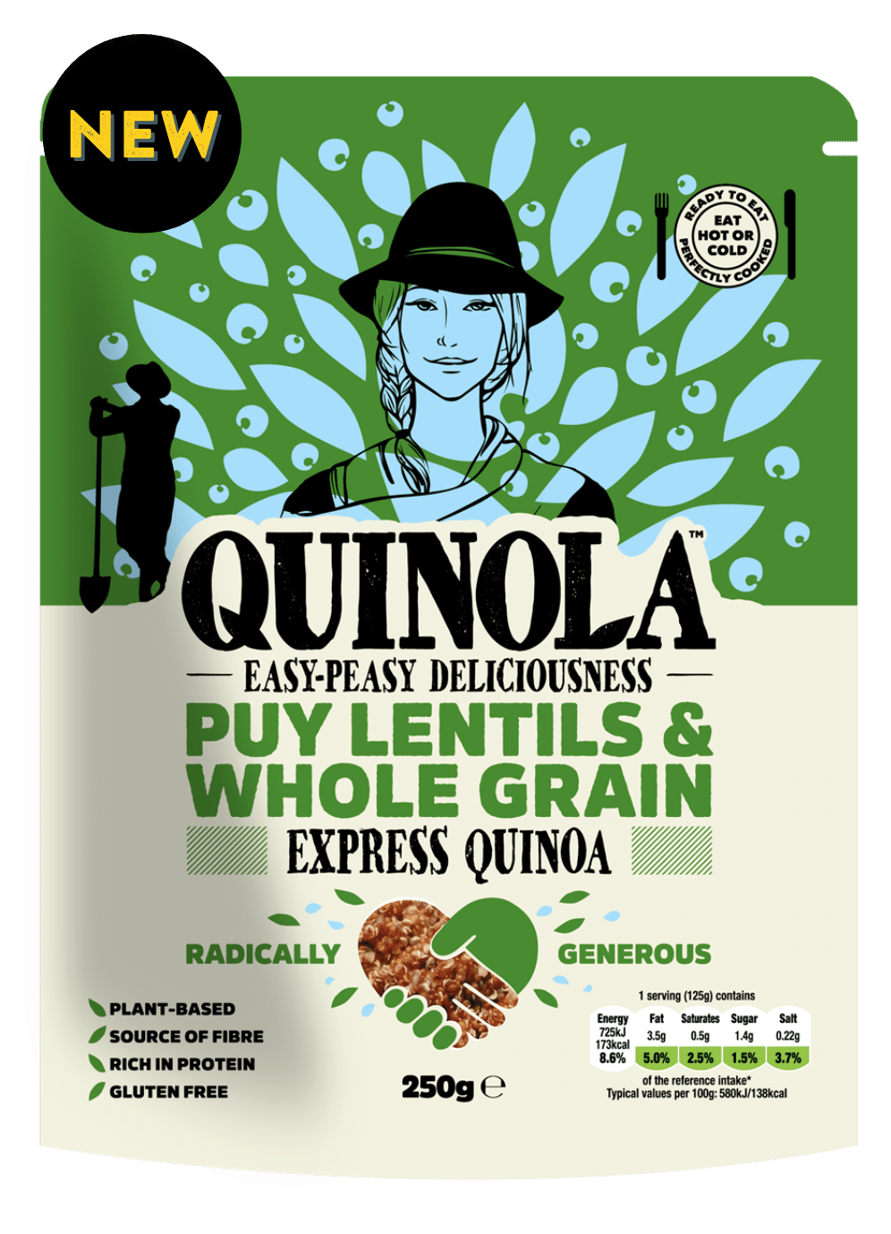 Express Puy lentils and quinoa recipe