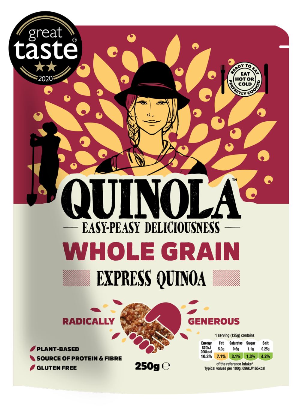 Whole Grain Packet With Great Taste Logo